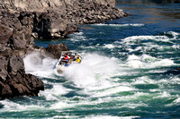Jet boating, Thompson River, rapids, whitewater