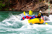 White water, rafting, Kananaskis River, Canoe Meadows course, Alberta