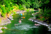 Cowichan River, tubing, Skutz Falls, tubers, recreation, lifestyle