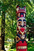 Duncan, BC, First Nations, Totem, Quw'utsun Cultural and Conference Centre