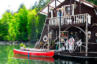 Genoa Bay, float home, Cowichan Valley, marina, houseboat