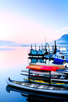 Cowichan Bay, The Colour of Canada, docks, canoes kayaks, float homes, marina