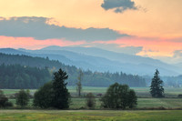Cowichan Valley sunset, Cobble Hill, BC