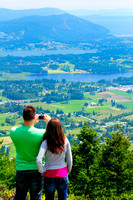 Hiking, Mt. Prevost, Duncan, Cowichan Valley, Lia, Kiel, picture
