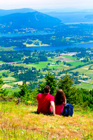 Hiking, Mt. Prevost, Duncan, Cowichan Valley, Lia, Kiel
