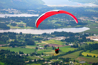 Mt. Prevost, Duncan, paraglider, Cowichan Valley, recreation, lifestyle
