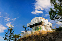 Mt. Begbie Lookout, forestry lookout