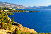 Naramata on Okanagan Lake, BC