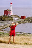 Stace Model, Fisgard Lighthouse, Fort Rodd Hill, photo shoot
