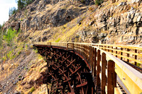 Trestle, Myra Canyon Trestles, Kettle Valley Railway, Kelowna