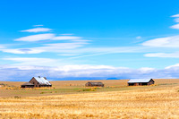 Washington State, Waterville, farmland, barns