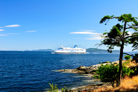 BC Ferry, Spirit of Vancouver Island, Ruckle Provincial Park, Salt Spring Island