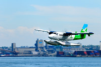 Westcoast Air, DeHavilland Twin Otter, takes off, Vancouver