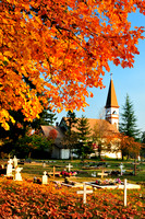 St. Ann's Church, Duncan, First Nations church, fall colours