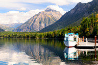 Glacier National Park, Montana, DeSmet, Lake McDonald, tour, boat